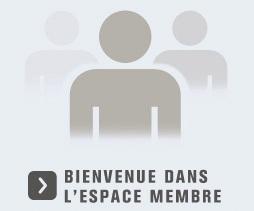 Accès à l'espace membre