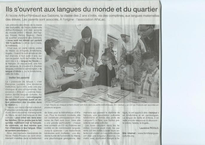 Ouest france 28 06 2014